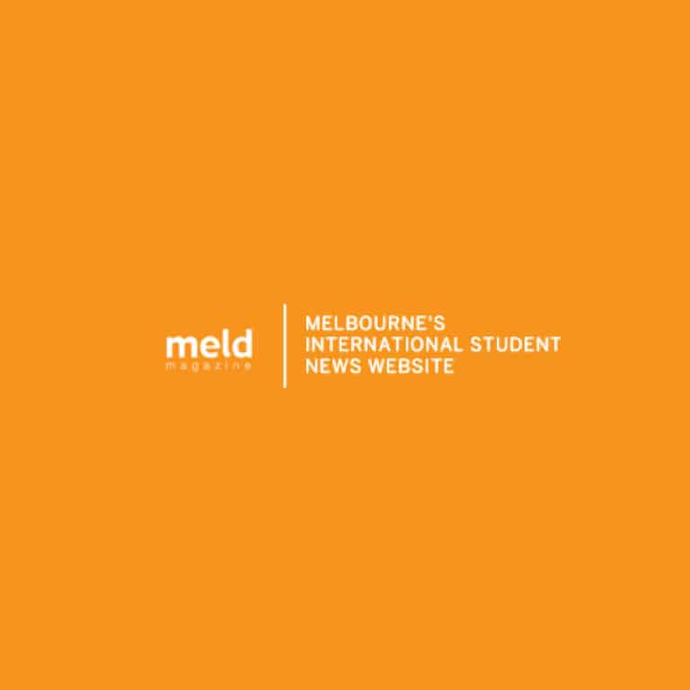 Melbourne's International Student News Website MELD logo in colour