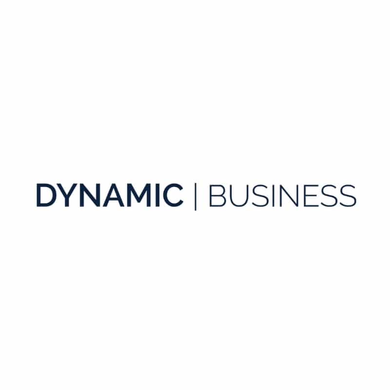Dynamic Business logo in colour