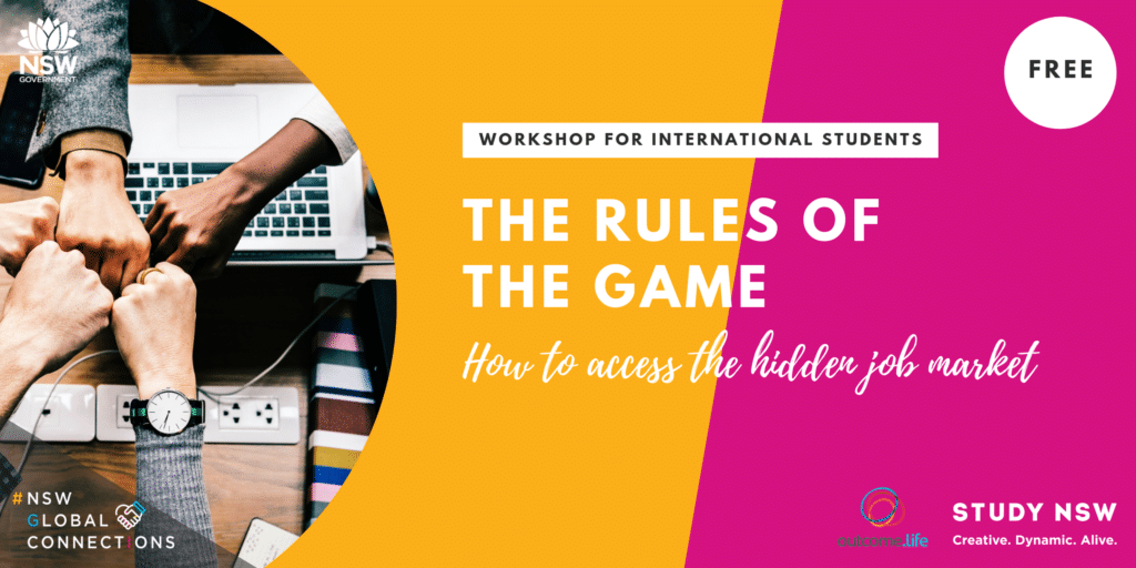 The Rules of the Game: How international students can access the hidden job market