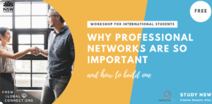 Leveraging your Professional Network in Australia to start your career
