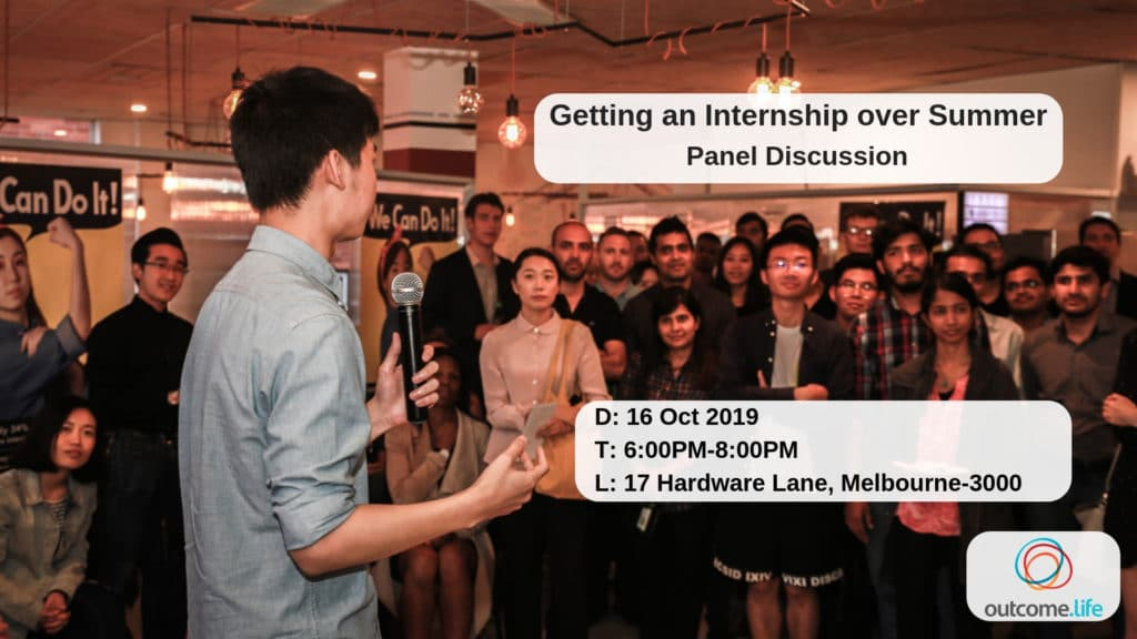 Getting an internship over Summer – Panel discussion