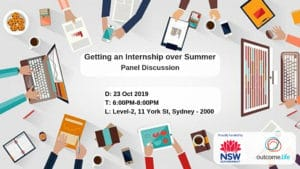 Getting an Internship over Summer - Panel Discussion