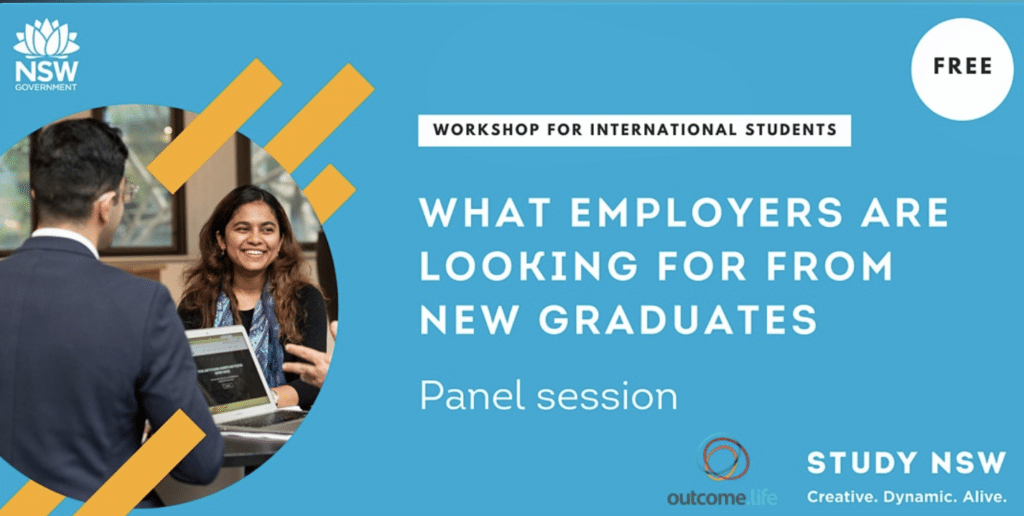 What employers are looking for from new graduates -Panel session