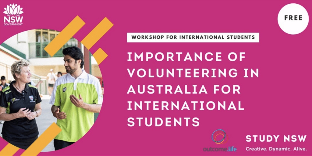 Importance of Volunteering in Australia for international students