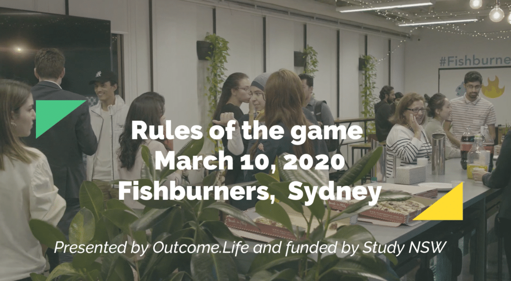 Outcome.Life x Study NSW – Rules of the Game