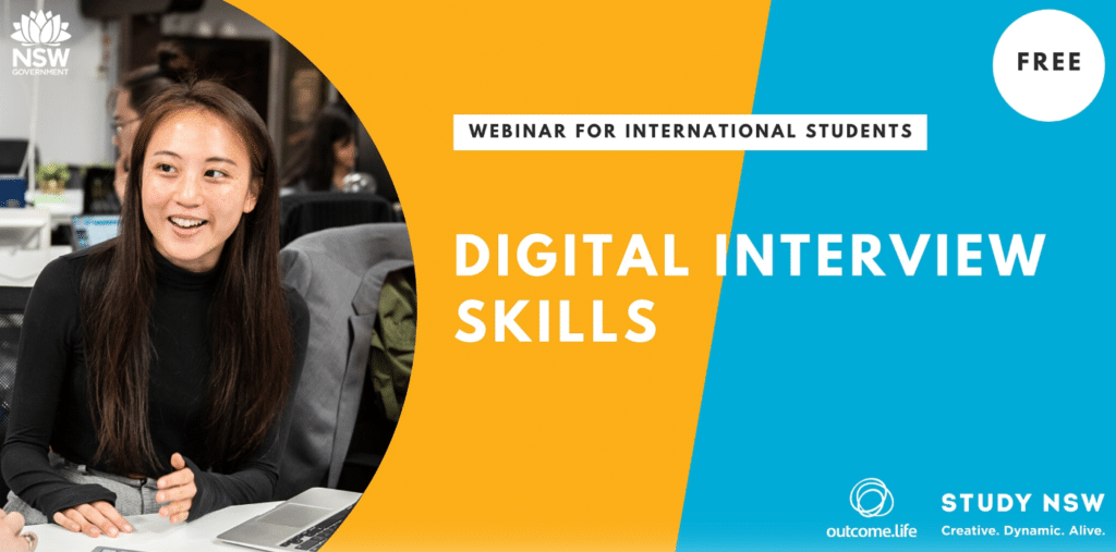 Outcome.Life x Study NSW Webinar Series – Digital Interview Skills